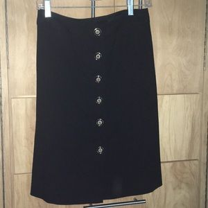 And Taylor wool skirt
